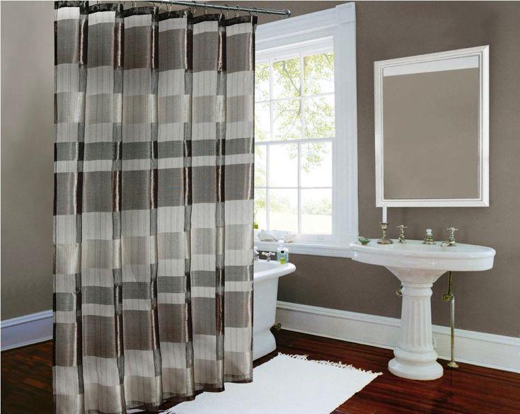 modern shower curtains fabric