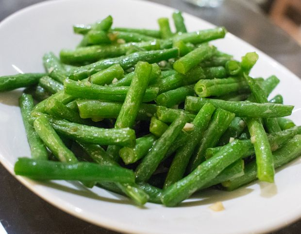 Chinese Style Garlic Green Beans | Kirbie's Cravings | A San Diego food blog