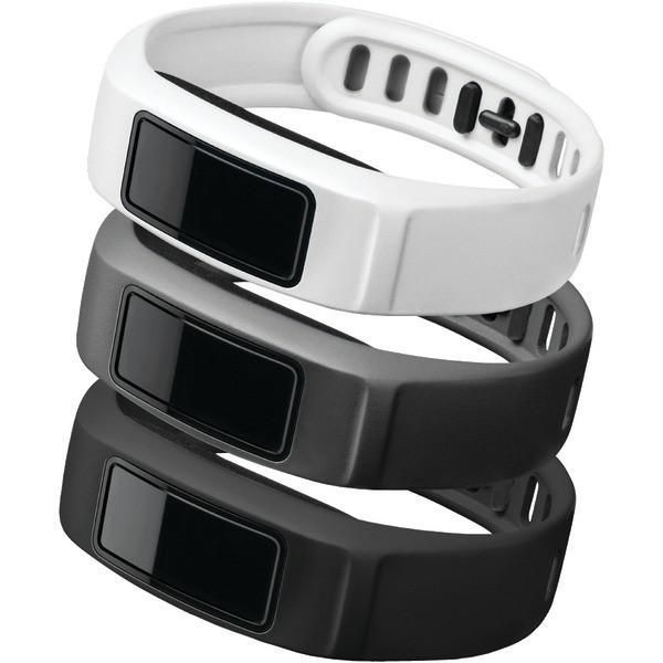 Garmin 010-12336-10 vívofit 2 Neutral-Themed Bands, 3 pk (Small)