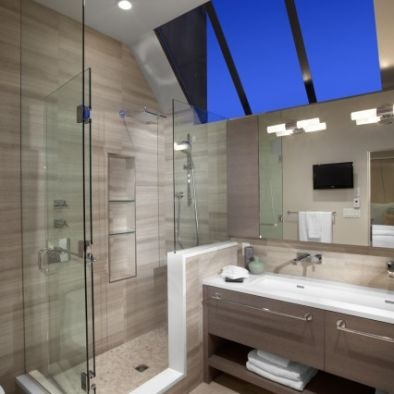 Layout For Shower And Vanity Bathroom Pinterest Gray