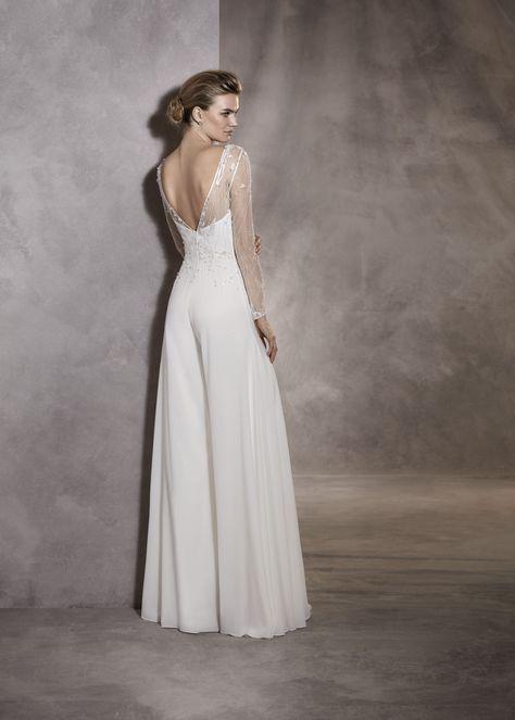 a041e0b9ba Pronovias ALMA Jumpsuit – Ellie s Bridal Boutique (Alexandria