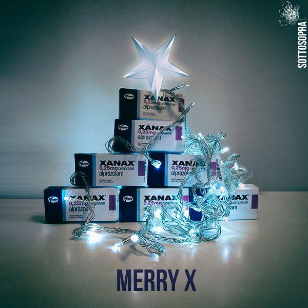 Happy X #natalesottosopra #christmas #sottosopra #xanax www.sottosopra.info