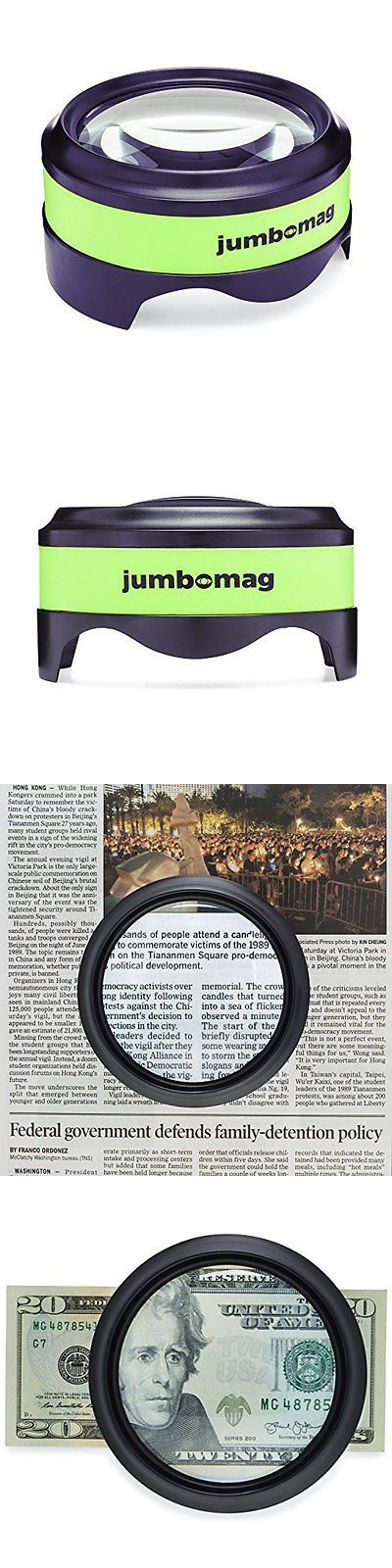 Low Vision Magnifiers: Led Desktop Magnifying Glass With 5X Magnification High Quality Dome And Large Day -> BUY IT NOW ONLY: $33.95 on eBay!