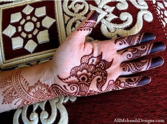 Cute Easy Eid Mehndi Designs Pictures