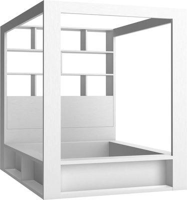 Łóżko z Regałem na Książki oraz Pojemnikiem na Koce - Łóżka - Typy Mebli - Meble VOX