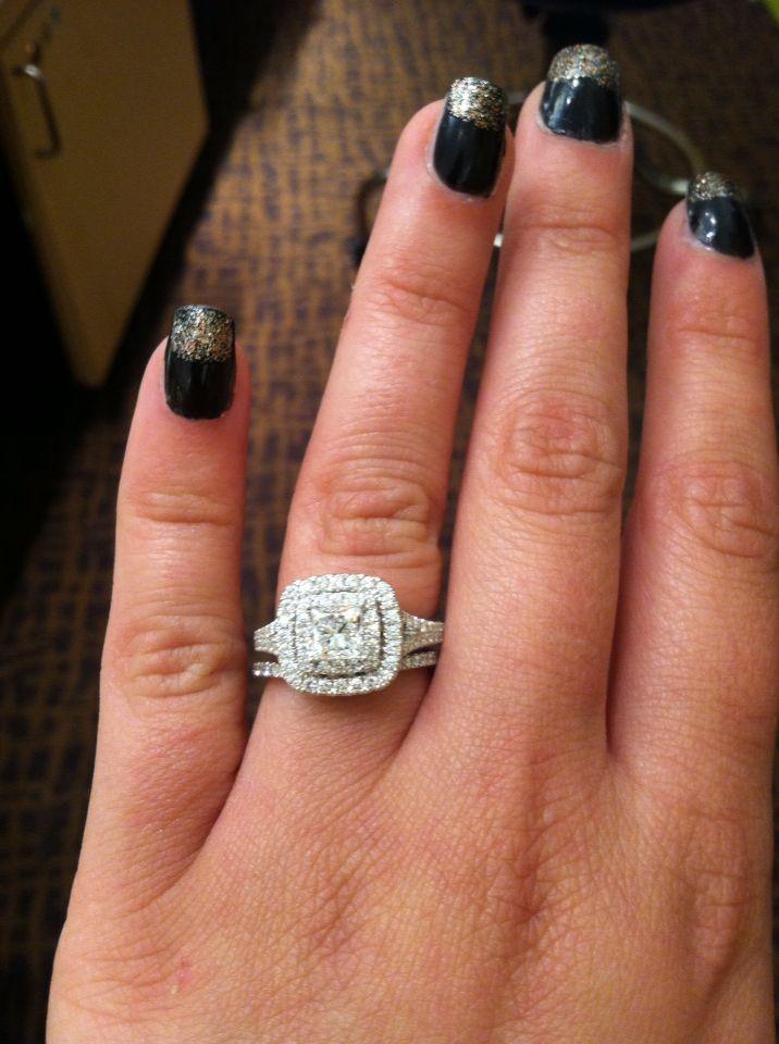 Neil Lane bridal set from Kay Jewelers