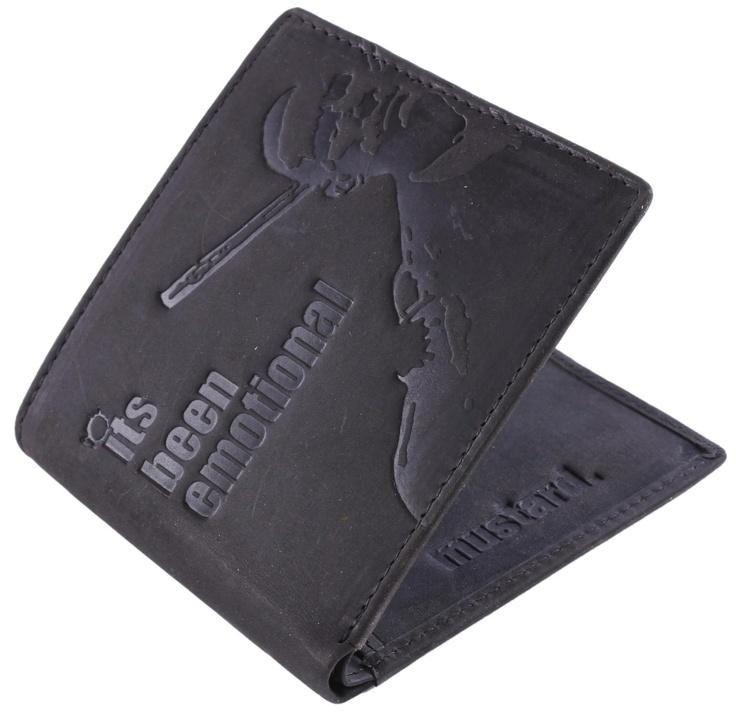 Mustard Wallet - Lock Leather Wallet #Mustard #Mens #Wallet