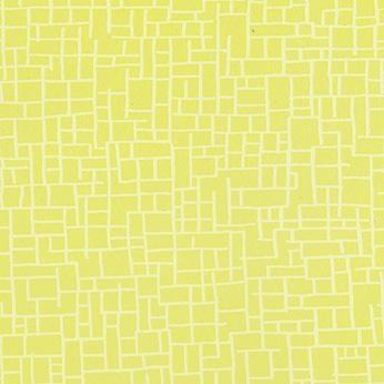 Våtrumstapet Onyx fifties gul