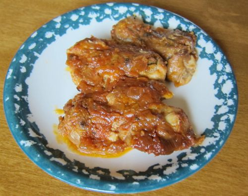 How To Make Baked Barbecue BBQ Chicken Thighs