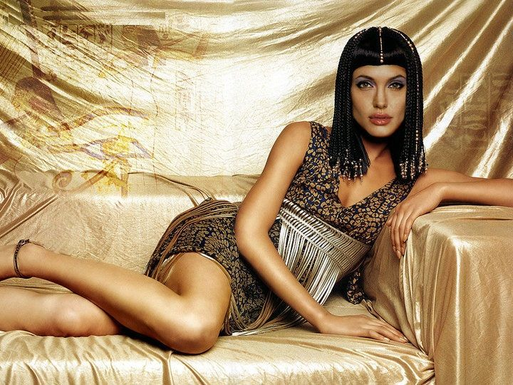 Fan-made poster of Angie as Cleopatra