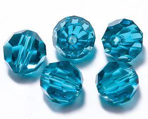 ID3403 - 8mm Indicolite Swarovski® Crystal Round Beads (Article 5000)(1)