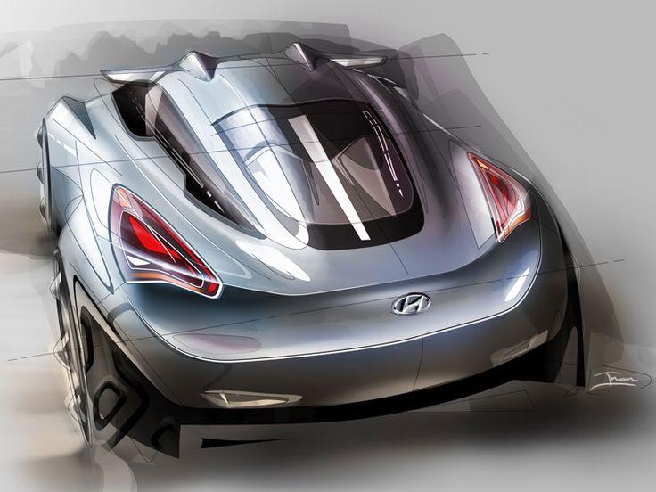 concept car design sketch by Inon Rozen (via simkom.com/sketchsite 132272540669024)