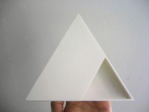 triangle #white