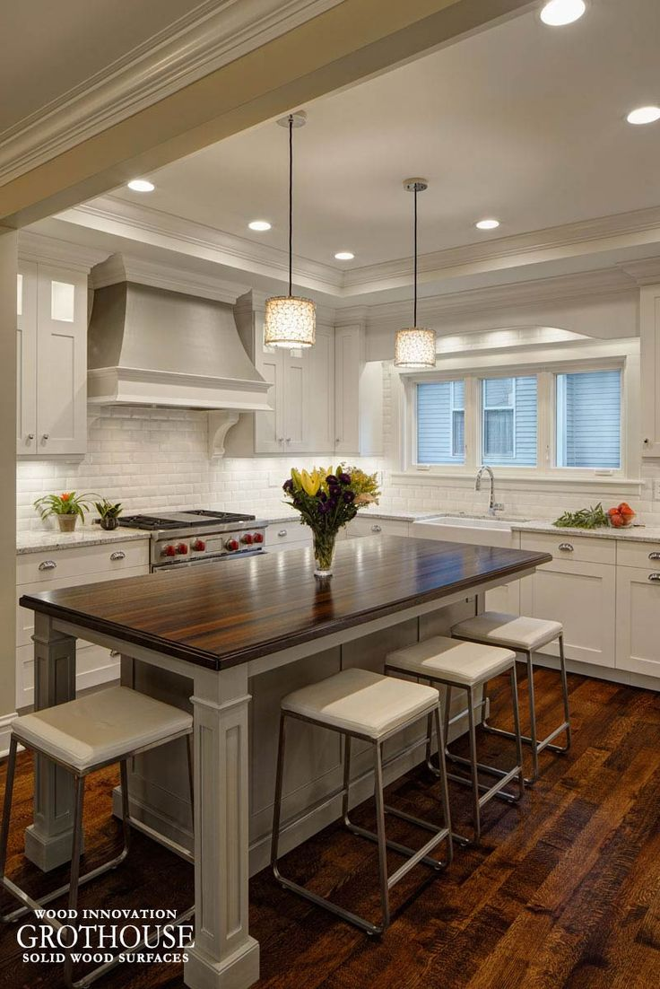 wenge wood kitchen island countertop glen ellyn il