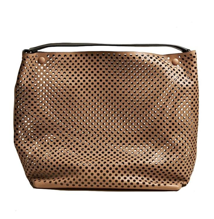 Jil Sander Laser Cut Perforated Bag via @Trendland The Trend Shop