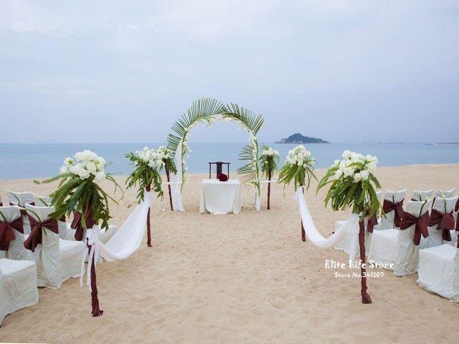 Beste ideeën over bruiloft boog decoraties op