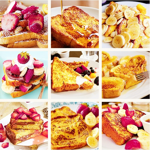 My goodness, I love French Toast.: Glorious Food, French Toast