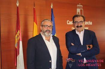 VILLANUEVA DE LOS INFANTES CONTARÁ CON UN SOPORTE VITAL BÁSICO. Así lo aseguró Jesús Fernández Sanz, Consejero de Sanidad de Castilla-La Mancha