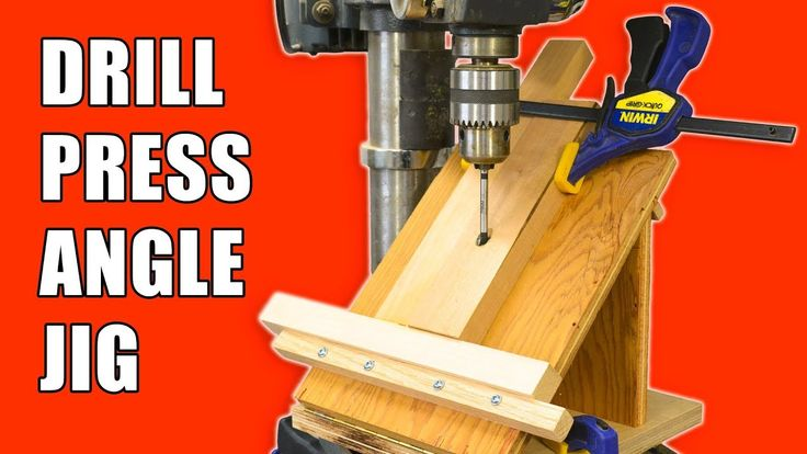 How to make a Drill Press Angle Jig!