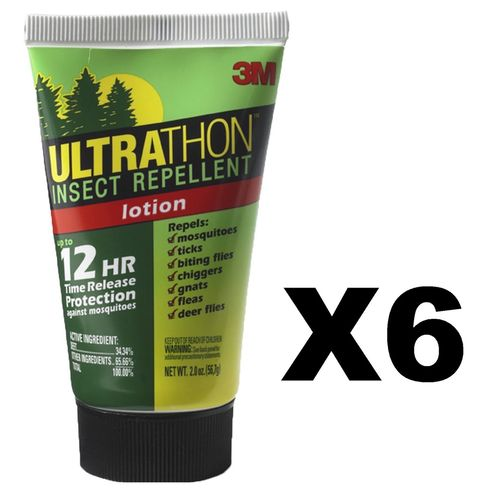 Ultrathon Insect Repellent Lotion 2 oz (6-Pack)