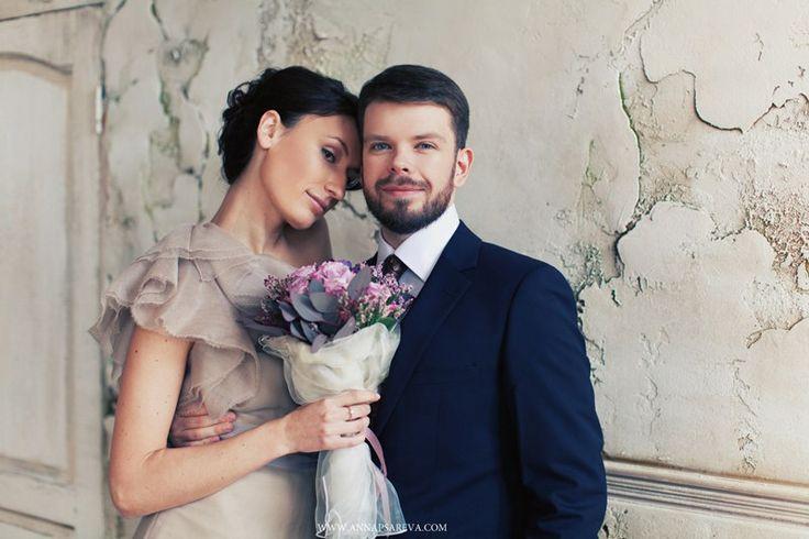 свадьба в фиолетовых тонах №2