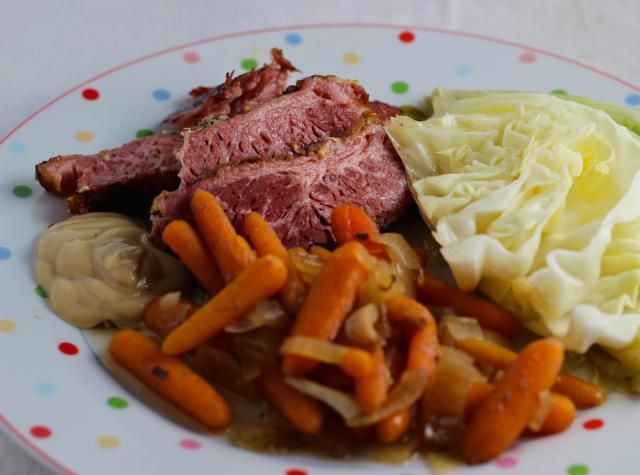 This delicious and much loved Crockpot Corned Beef and Cabbage recipe for St. Patrick's Day is quick and scrumptious.