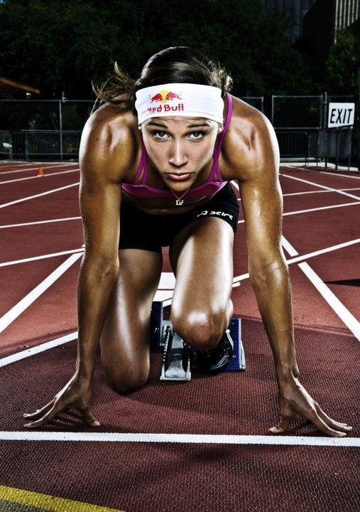 Lolo Jones- still trains in Baton Rouge :)