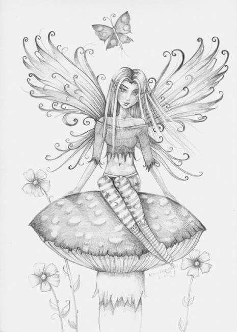 Mejores 54 imágenes de Para Pintar Hadas Princesas y Sirenas en ...