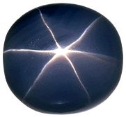 The Star of India, at 563.35 carats, is the largest and most famous star sapphire in the world. Formed some 2 billion years ago, it was discovered, allegedly more than 300 years ago, in Sri Lanka, where excellent sapphires are still to be found in deposits of sand and gravel left by ancient rivers. J. P. Morgan presented the sapphire to the New York Museum of Natural History in 1900 where it remains one  of the most renowned objects in their collection.