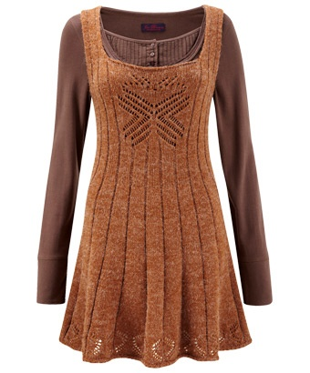 LK271 - Spice Up Your Life Tunic  - Like the lace and construction