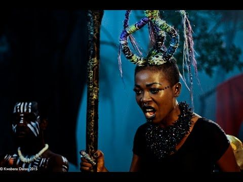 An intriguing and threateningly different musical performance embodying the black magic vibes of this black magic woman.