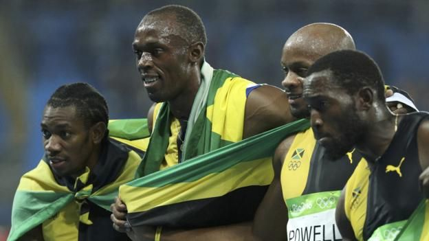 Usain Bolt ends his Olympic career by claiming an unprecedented 'triple triple'…