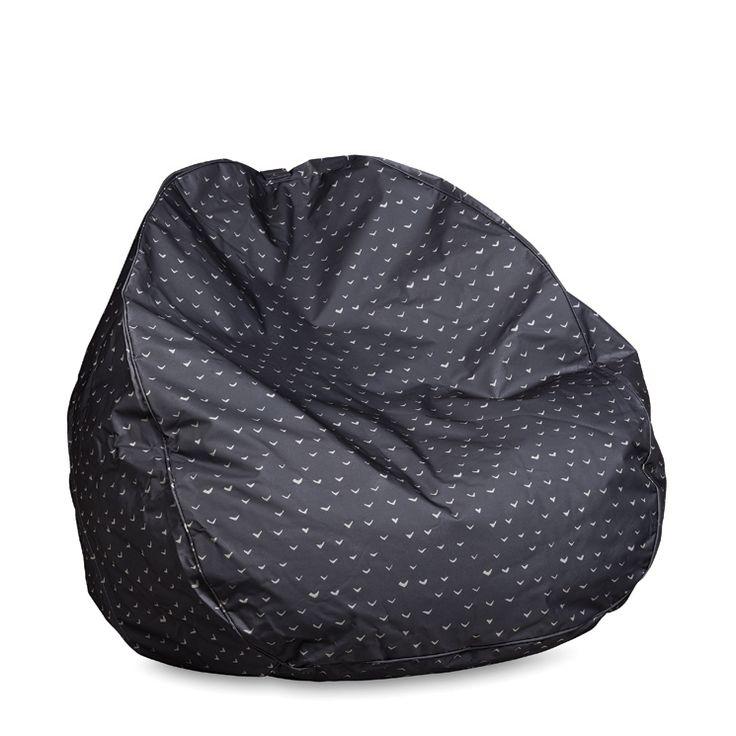 Lela Print Bean Bag w/Piping | Citta Design $144