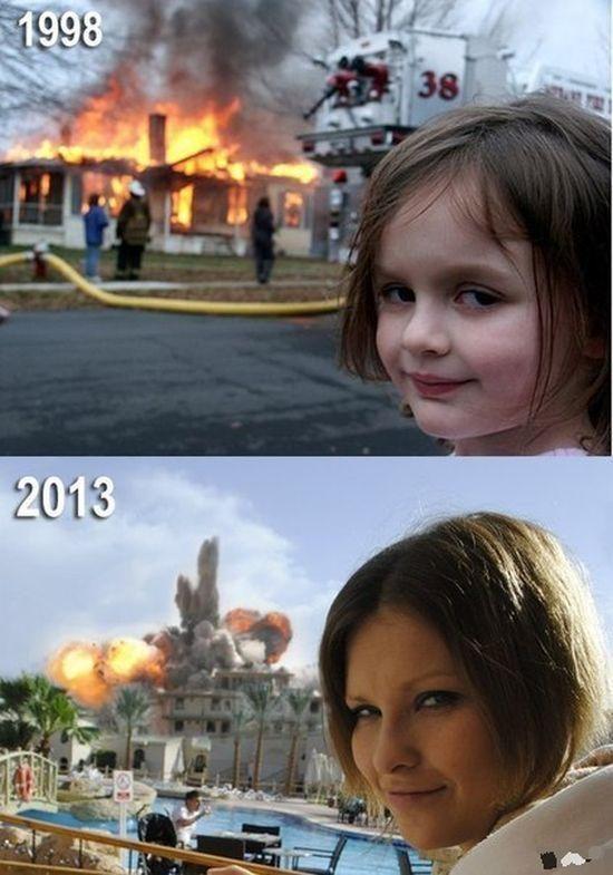 O mal também tem evolução