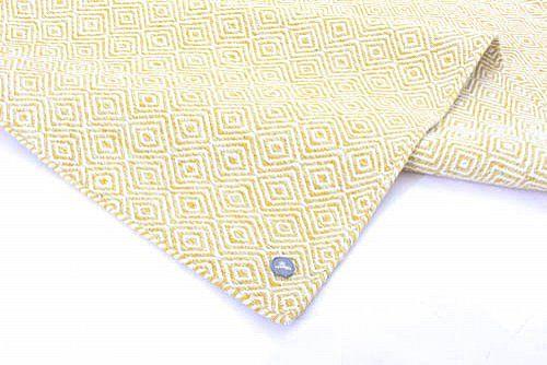 Wollen-vloerkleed - Athens (geel)