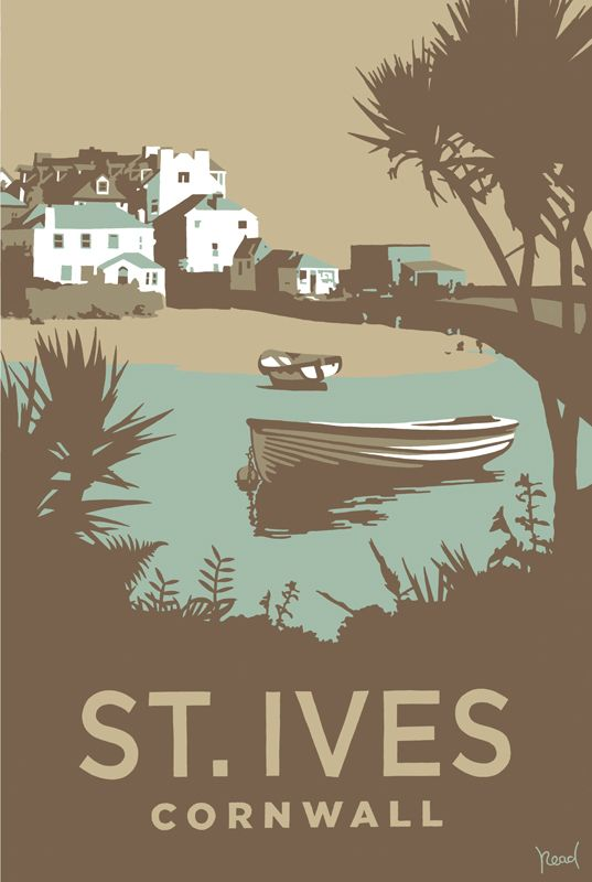 St Ives (SR15) Beach And Coastal Print Http://www.thewhistlefish Part 90