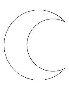 Crescent Moon Pattern | викрійка