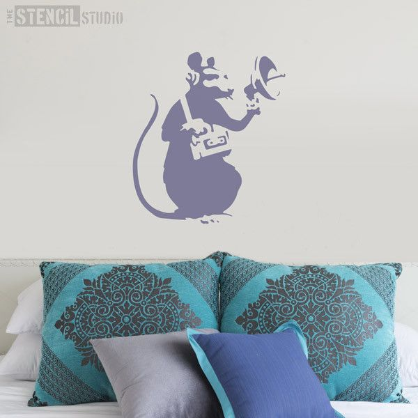 Wall Stencil Art 35 best banksy street art graffiti wall stencils images on