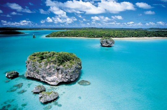 La baie d'Upi - Nouvelle Caledonie - See this lagoon and then ... everything will be all right !