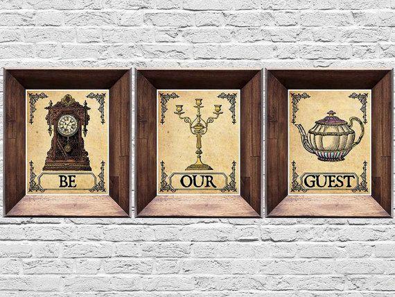 Decoraciones que tu habitación necesita si amas 'La bella y la Bestia'