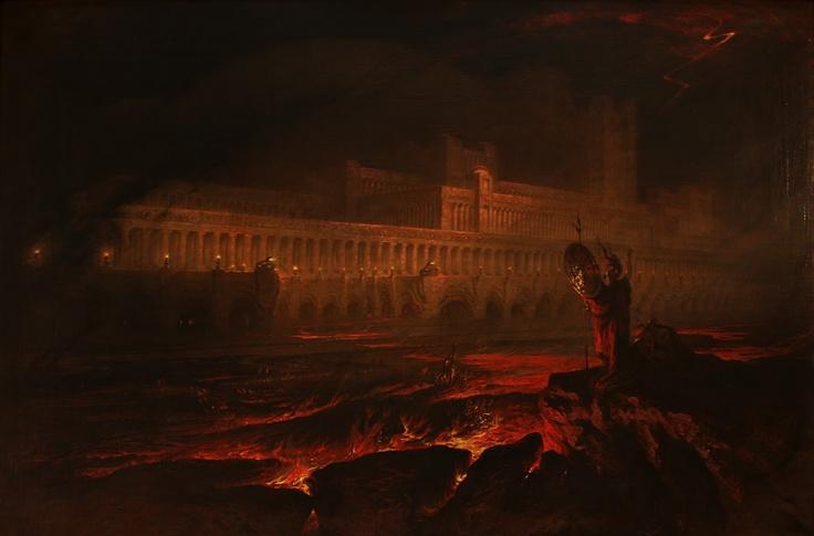 John Martin, Pandemonium, 1825