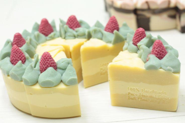 Yunohana cake soap