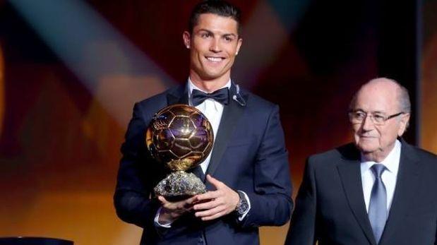 Cristiano Ronaldo win his 3th Balón de oro ♡