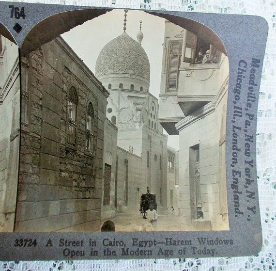 Egyptian Stereoview Card Keystone 33724 A by DaysofYoreTreasures