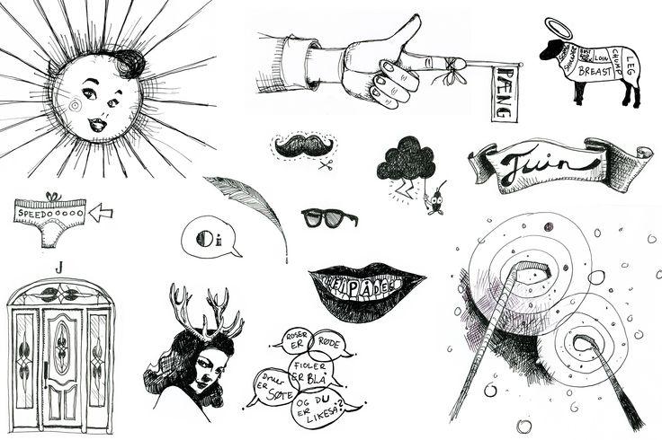 Veronica Normann Jensen Illustration fo calendar, PRESSEROMMET