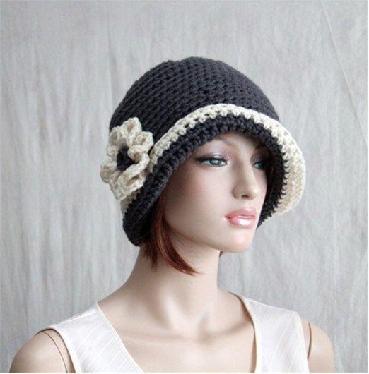 356 besten Crochet Hats: Ladies Bilder auf Pinterest | Hut häkeln ...