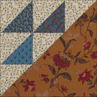 Civil War Quilts: Block 9 Birds in the Air