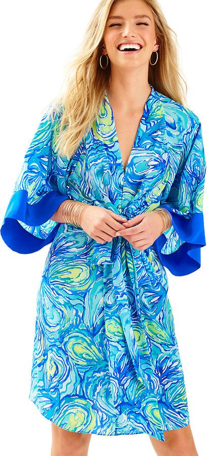 Image result for lilly pulitzer silk kimono
