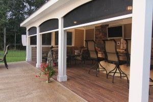 Patio and Lanai Retractable Screens- Stoett