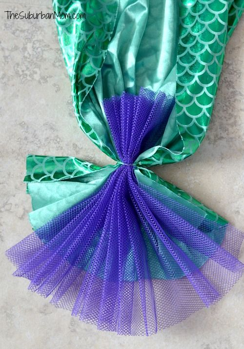 How To Make A Mermaid Tail ~ Tutorial